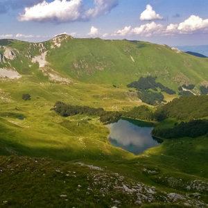 Pesica Lake Bjelasica Montenegro